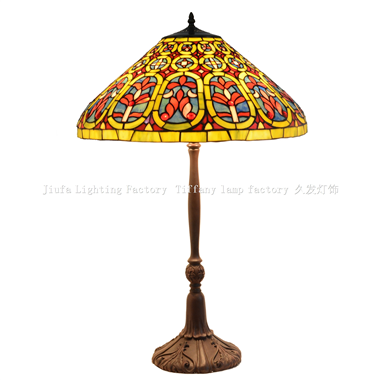 TL200011 20inch Venetian Tiffany Lamp Desk Light