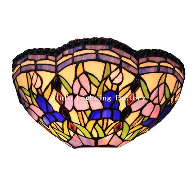 WL120001-flower Tiffany Wall light