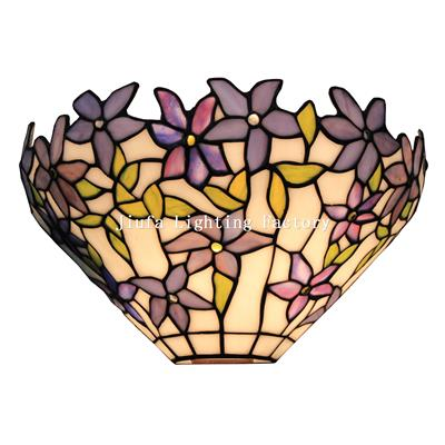 WL120010-stained glass wall light tiffany wall sconce