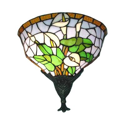 WL120026 12 inchTiffany wall sconce wall light  stained glass art decor wall lighting jiufa tiffany