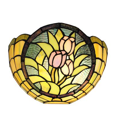 WL120027 12 inchTiffany wall sconce wall light  stained glass wall lamp jiufalighting@aliyun.com