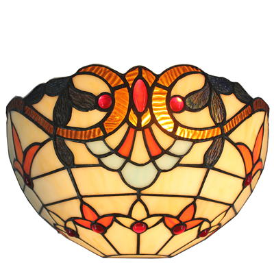 WL120032 12 inchTiffany wall sconce wall lights  stained glass wall lamp