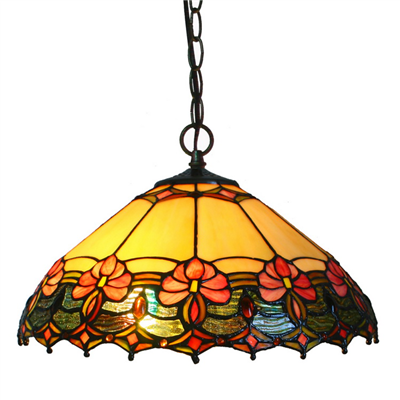 PL160002 16 inch Fruits Tiffany Style Pendant Lamp with chain  hanging lighting