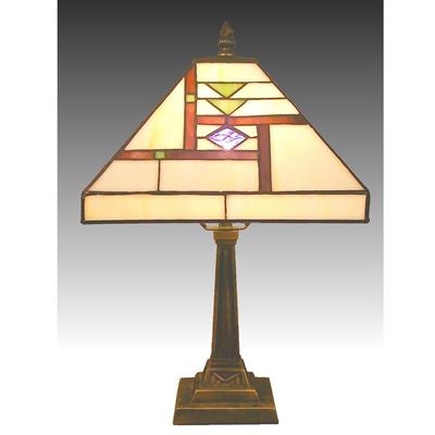 TL100005 10 inch zinc  alloy base tiffany table lamp from China Jiufa