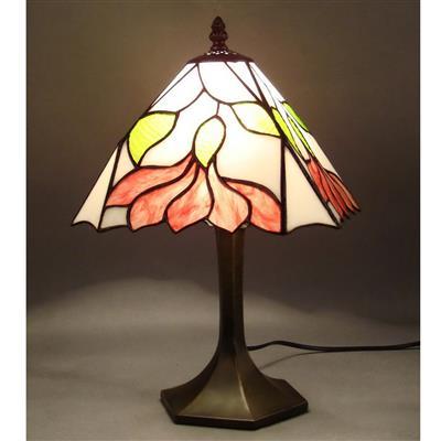 TL100006 10 inch zinc  alloy base tiffany table lamp from China Jiufa