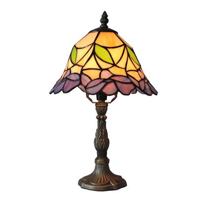TL100014 10 inch resin base tiffany table lamp from China Jiufa