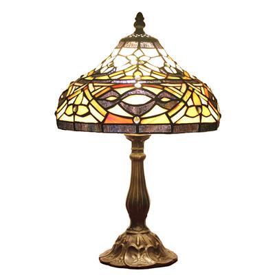 TL100015 10 inch resin base tiffany table lamp from China Jiufa
