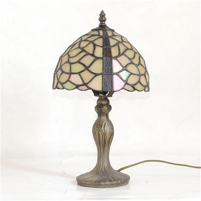 TL080034 8 inch resin base tiffany table lamp from China Jiufa
