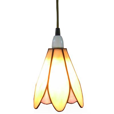 PL061001 6 inch flower shade tiffany pendant lamp