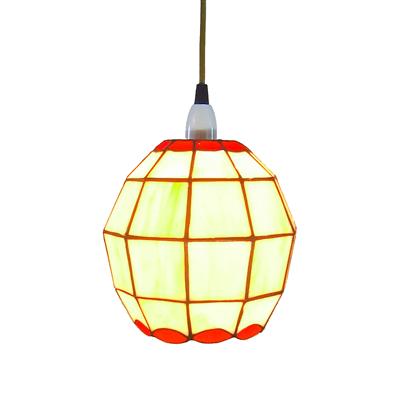 Pl081001 ball shade tiffany pendant lamp Jiufa