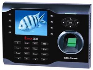 中控ICLCOK360指纹考勤机