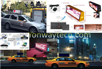 Outdoor & Vehicle/Taxi Top Movable Advertising LED Digital Signage