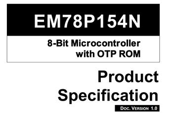 EM78P154N系列