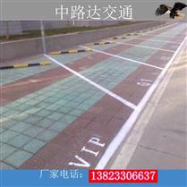 露天停车场设计以及划线的作用