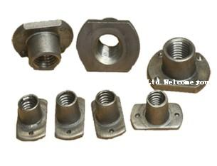 Auto weld nut processing