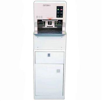 欧士达OST268-3同步全自动三孔档案装订机 全自动线式档案装订机三孔一线一步完成装订工作