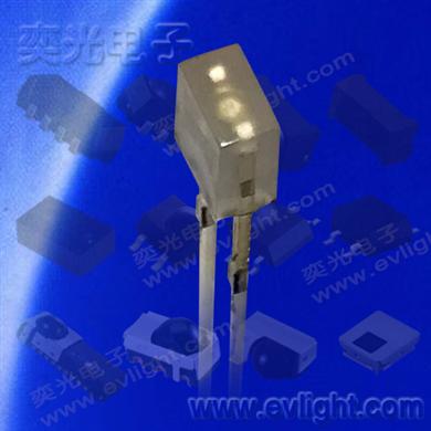 2*3*4白色雾状发蓝光插件LED