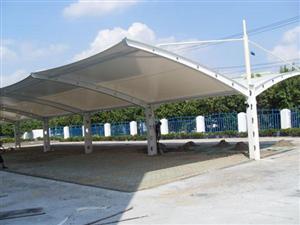 膜结构自行车棚专业加工制作
