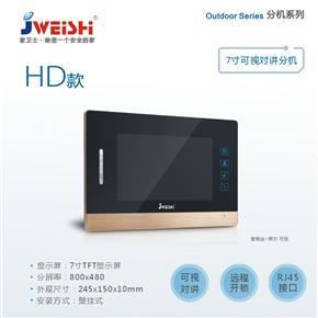 7寸室内分机HD
