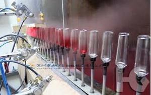 Dongguan cosmetics spray line cosmetics spray equipment manufacturer