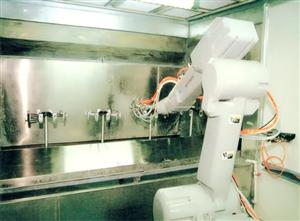汽车零部件喷油设备,汽车喷漆设备,汽车零部件喷漆线-志诚机器人厂家