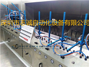 Earphone UV oil injection line rubber oil baking line earphone oil injection equipment