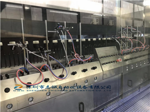 Automatic spraying equipment, reciprocating machine equipment, robot oil spraying production line