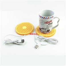 USB杯垫 保温杯垫 滴胶餐垫 可开模定制