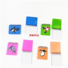 PVC软胶笔记本 滴胶卡通记事本 儿童笔记本 可开模定制