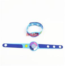 UV感光变色手环 PVC软胶手腕带 可开模定制