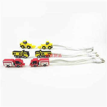 手机数据线 PVC软胶一拖三数据线套 汽车数据线套 可开模定制
