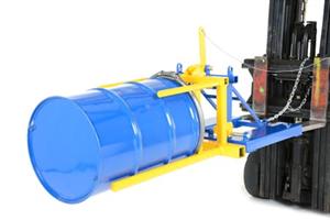 Forklift oil drum converter