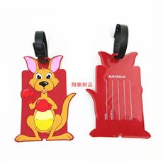 PVC软胶行李牌 滴胶箱包挂牌 卡通箱包饰品挂件  可开模定制