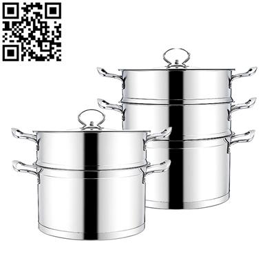 直角蒸鍋(Stainless steel steamer pot)ZD-ZG308