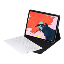 新 2018  iPad 12.9 寸无线蓝牙键盘皮套 可分拆保护套