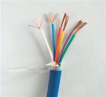 阻燃屏蔽通信电缆 MHYVRP