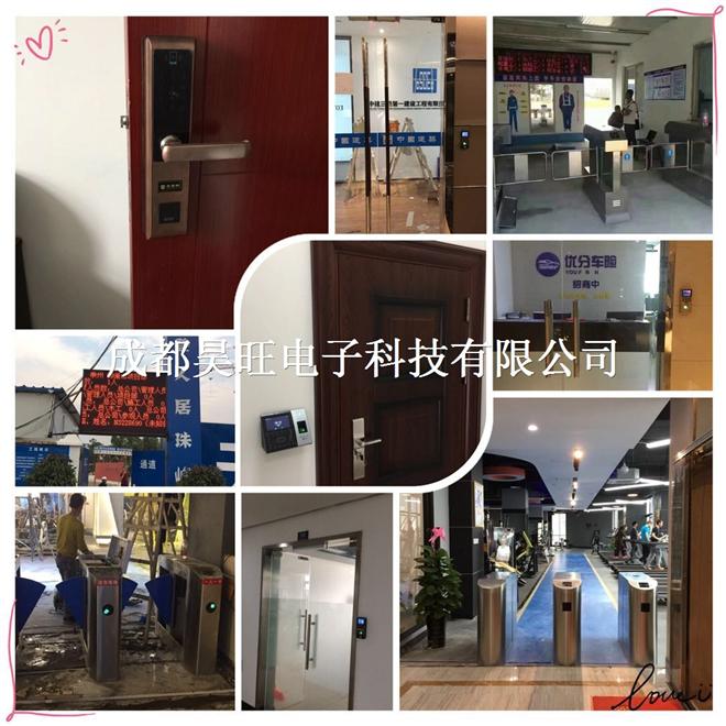 郫县新都温江人行通道闸,广告门,门禁系统上门安装