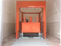 滑轨式垃圾站垂直压缩设备