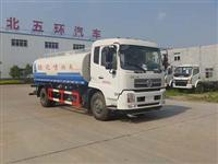 东风天锦LNG12立方绿化喷洒车