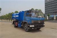 东风153自装卸式垃圾车  挂桶式垃圾车