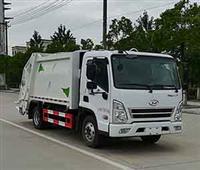 北京现代5立方压缩垃圾车