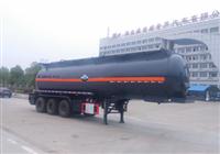 30立方(氢氯酸-硫酸-次氯酸钠)腐蚀性物品罐式运输半挂车