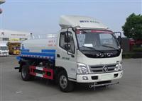 福田NG4立方5立方绿化喷洒车