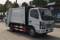 东风2-5立方压缩式垃圾车