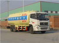 东风天龙后双桥粉粒物料运输车(DFL1250A9)
