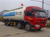 解放前四后八粉粒物料运输车(CA1310P2K2L7T4)
