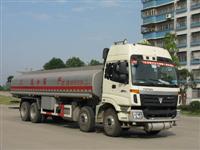 福田欧曼前四后八化工液体运输车 BJ5317GNFJF-S1
