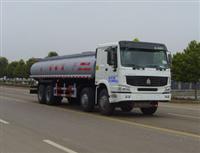 重汽前四后八化工液体运输车(ZZ5317M4667C)