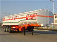 楚飞牌CLQ9401GHY型化工液体运输半挂车