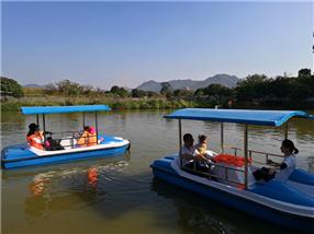 深圳农家乐-乐湖生态园:水上项目
